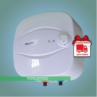 Willer PA15R Optima Mini (15л) - Электрический водонагреватель Виллер