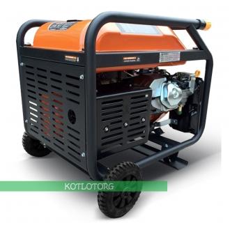 Бензиновый генератор Daewoo GDA 7500E (Expert)