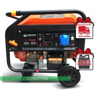 Daewoo GDA 7500E (Expert) - Бензиновый генератор Дэу
