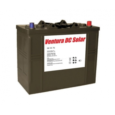 Батарея аккумуляторная Ventura DC 12-70 Solar