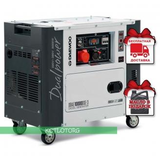 Daewoo DDAE 10000DSE-3 - Дизельный генератор Дэу (двухрежимный)
