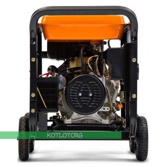 Дизельный генератор Daewoo DDAE 9000DXE-3