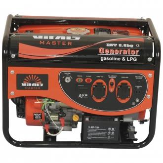 Генератор гибридный Vitals Master EST 2.8bg (Бензин/сжиженный газ)