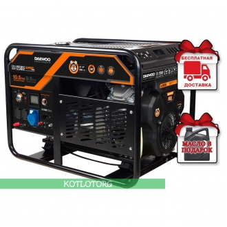Daewoo GDA 12500E - Бензиновый генератор Дэу