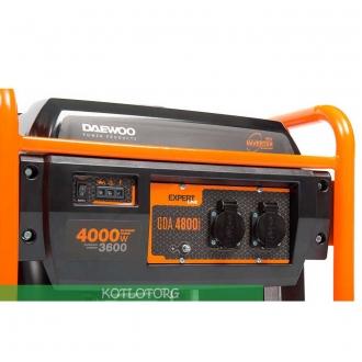 Инверторный генератор Daewoo GDA 4800I