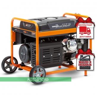 Daewoo GDA 8500DPE-3  - Бензиновый генератор Дэу