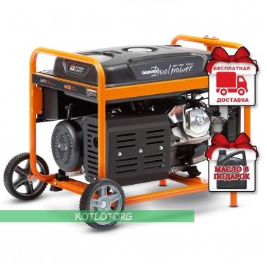 Бензиновый генератор Daewoo GDA 8500DPE-3 (Трёхфазный)