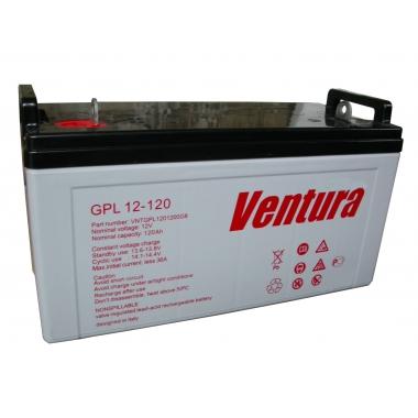 Батарея аккумуляторная Ventura GPL 12-120
