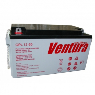 Ventura GPL 12-65 - Аккумуляторная батарея Вентура