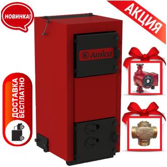 Amica Time W (20-38 кВт) - Твердотопливный котел Амика