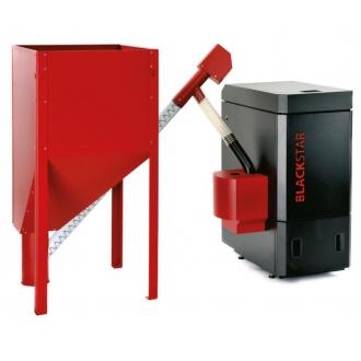 OPOP  Black Star (10-48 кВт) - Пеллетный котел Опоп